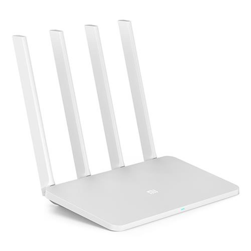 routers-modems [CN Version] Original Xiaomi Mi 3A WiFi Router 64MB 1167Mbps 2.4GHz 5GHz Dual Band With 4 Antennas - White  CN Version Original Xiaomi Mi 3A WiFi Router 64MB 1167Mbps 2 4GHz 5GHz Dual Band With 4 Antennas White