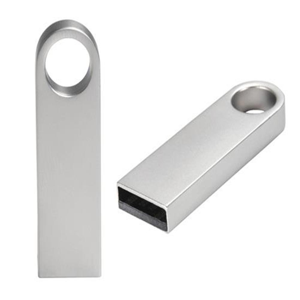 usb-flash-drives-2GB Mini Metal USB Flash Drive - Silver-2GB Mini Metal USB Flash Drive Silver