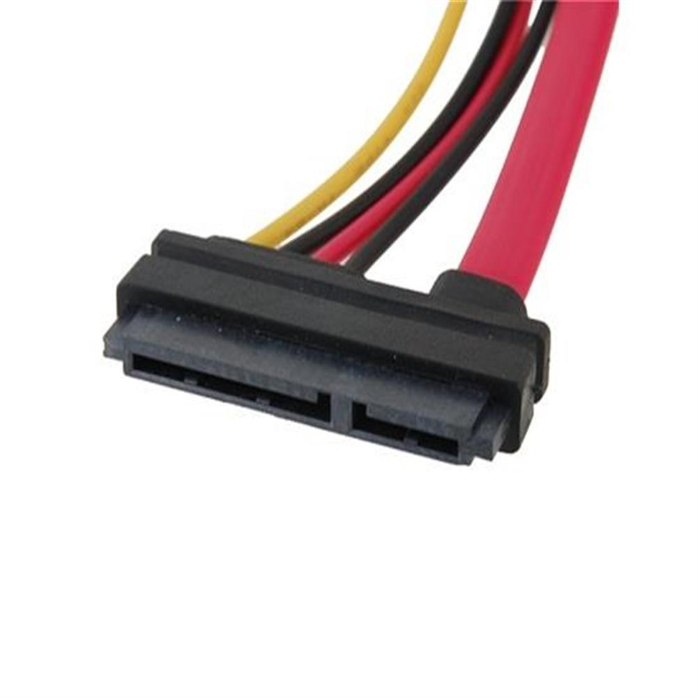 computer-networking-cables 4 Big Pin +7 Mini Pin Power/Data to 15 Pin IDE Power SATA Date Cable - Red 4 Big Pin 7 Mini Pin Power Data to 15 Pin IDE Power SATA Date Cable Red 1