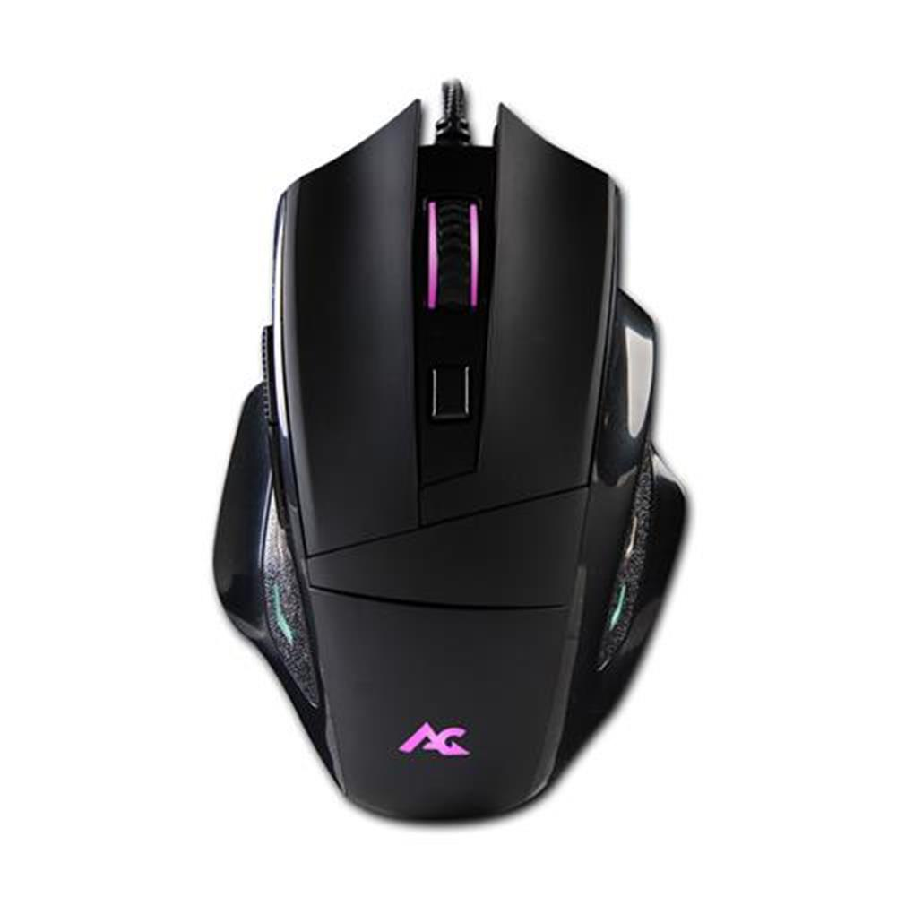 wired-mouse ACGAM G402 PMW3325 Wired Gaming Mouse RGB Backlights 10000 DPI OMRON Gaming Switch  - Black ACGAM G402 PMW3325 Wired Gaming Mouse RGB Backlights 10000 DPI OMRON Gaming Switch Black