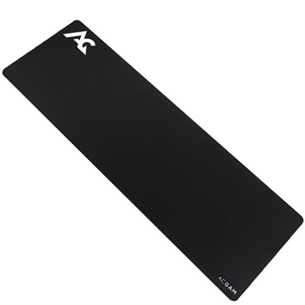 mouse-pads-ACGAM P07 Precision Cloth Gaming Mouse Mat Washable 4mm Ultra Thick Extended Water-Resistant 35.4 Inch x 11.8 Inch - Black-ACGAM P07 Precision Cloth Gaming Mouse Mat Washable 4mm Ultra Thick Extended Water Resistant 35 4 Inch x 11 8 Inch Black