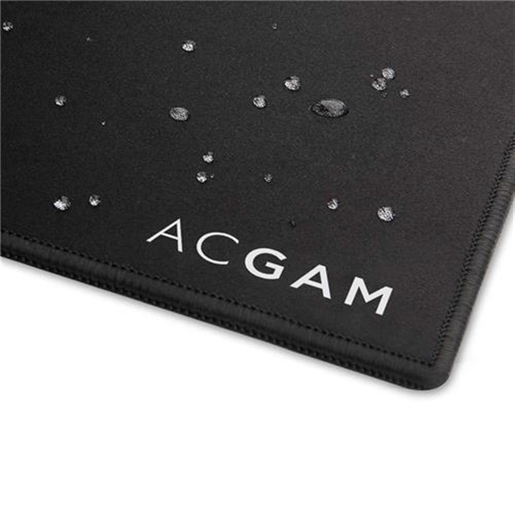 mouse-pads ACGAM P07 Precision Cloth Gaming Mouse Mat Washable 4mm Ultra Thick Extended Water-Resistant 35.4 Inch x 11.8 Inch - Black ACGAM P07 Precision Cloth Gaming Mouse Mat Washable 4mm Ultra Thick Extended Water Resistant 35 4 Inch x 11 8 Inch Black 2