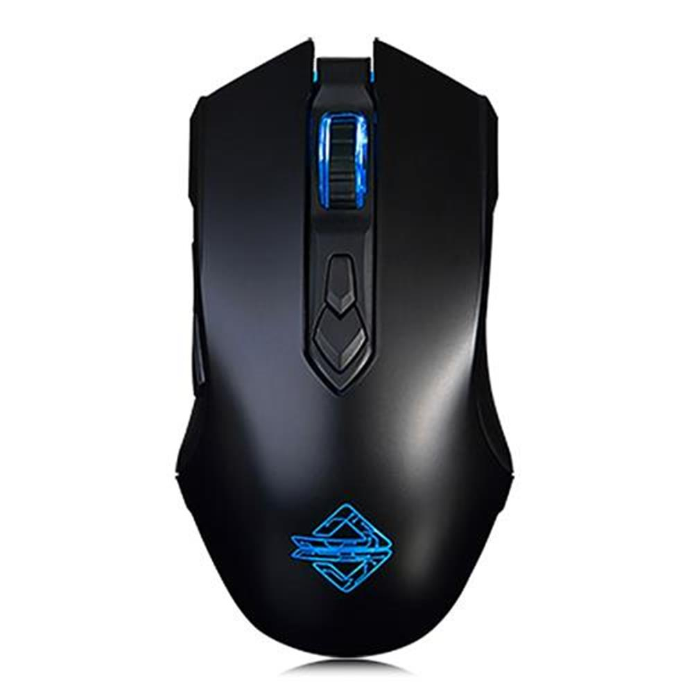 wired-keyboards Ajazz AJ52 Tournament Version Wired Gaming Mouse 7 Programmable Buttons Colorful Backlit Compatible - Black Ajazz AJ52 Tournament Version Wired Gaming Mouse 7 Programmable Buttons Colorful Backlit Compatible Black