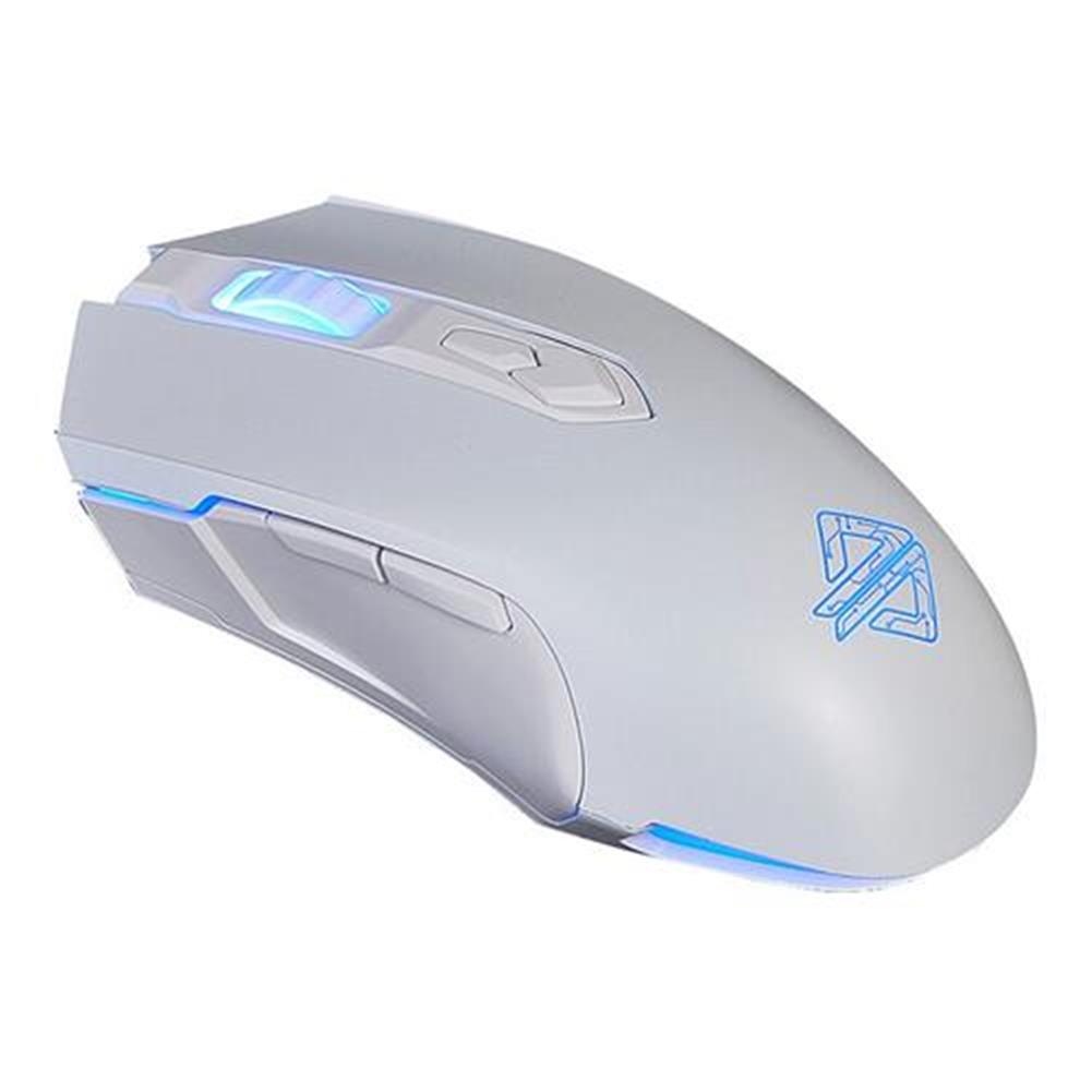 wired-keyboards Ajazz AJ52 Tournament Version Wired Gaming Mouse 7 Programmable Buttons Colorful Backlit Compatible - White Ajazz AJ52 Tournament Version Wired Gaming Mouse 7 Programmable Buttons Colorful Backlit Compatible White 1