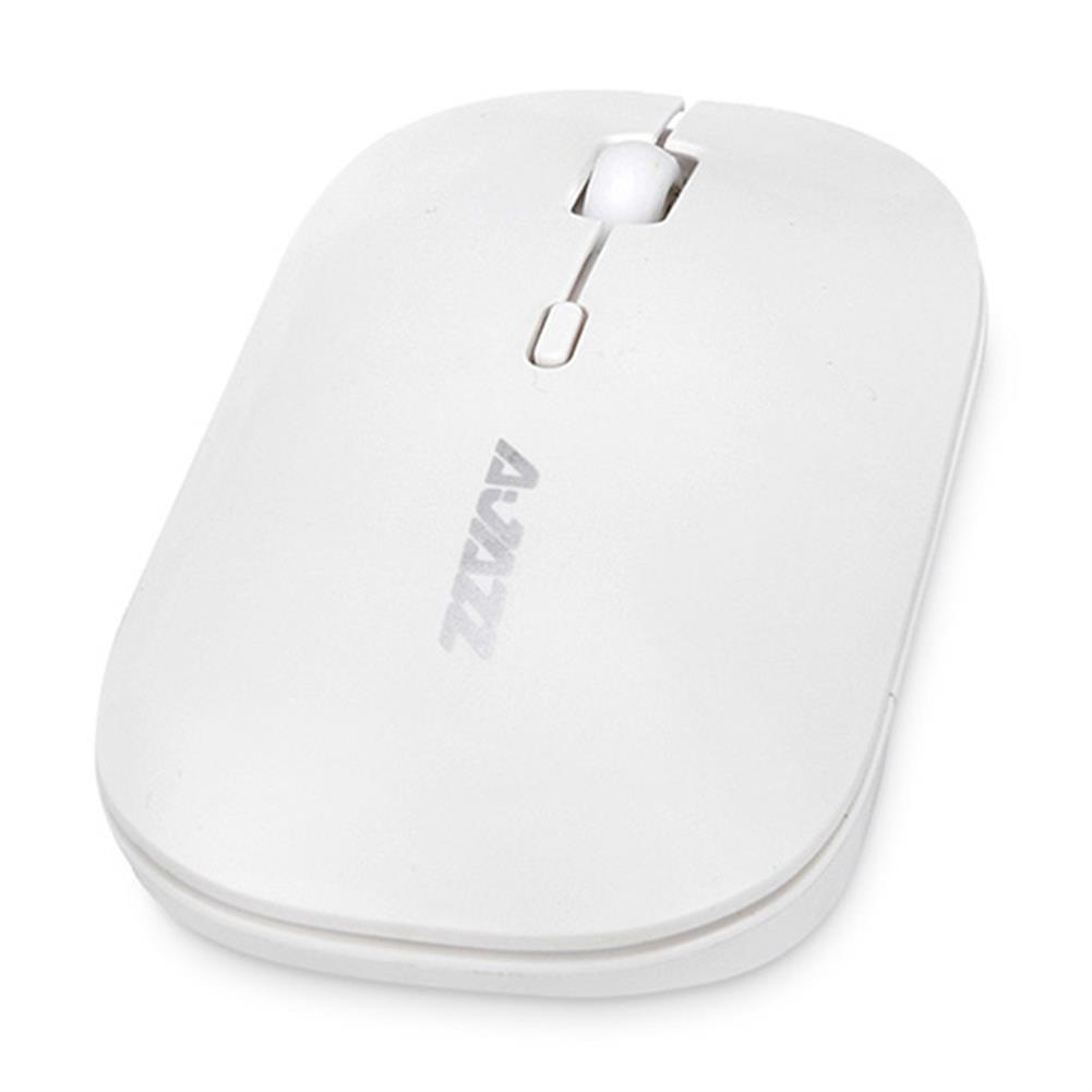 wireless-mouse-Ajazz I18 Wireless 2.4G Dual Mode Mouse Simple Mute Operation For Office Gaming Mouse - White-Ajazz I18 Wireless 2 4G Dual Mode Mouse Simple Mute Operation For Office Gaming Mouse White 4