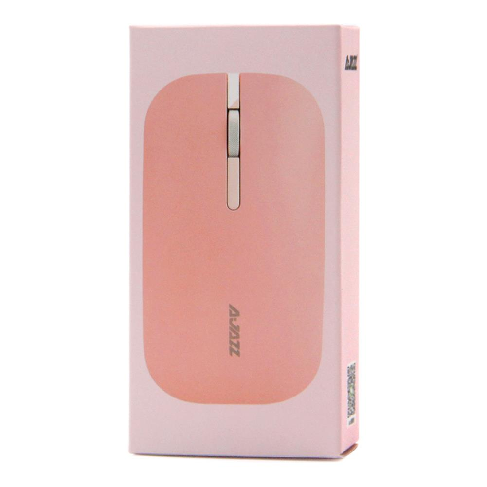 wireless-mouse-Ajazz I25 2.4G Wireless Optical Mouse 1600DPI Ultra-slim Mute Operation For Office - Pink-Ajazz I25 2 4G Wireless Optical Mouse 1600DPI Ultra slim Mute Operation For Office Pink 4