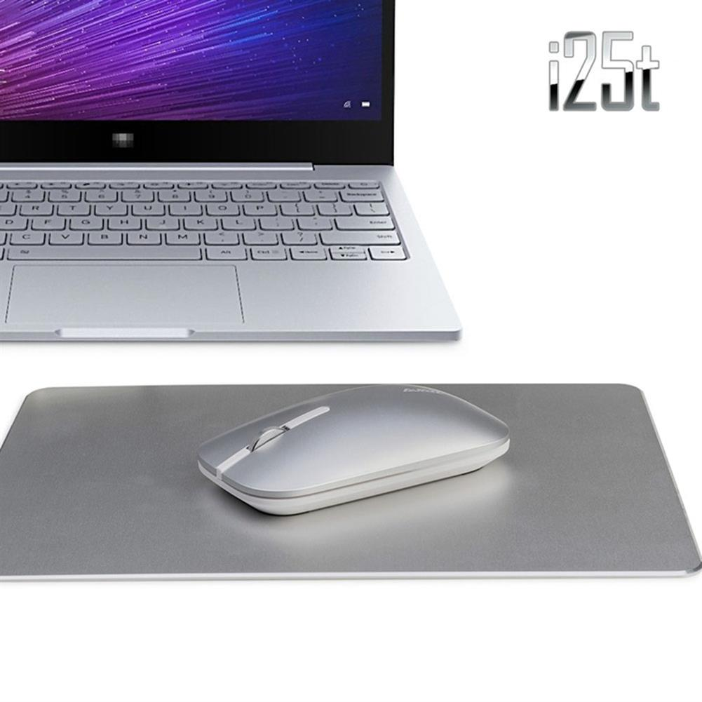 wireless-mouse Ajazz I25 2.4G Wireless Optical Mouse 1600DPI Ultra-slim Mute Operation For Office - Silver Ajazz I25 2 4G Wireless Optical Mouse 1600DPI Ultra slim Mute Operation For Office Silver 4