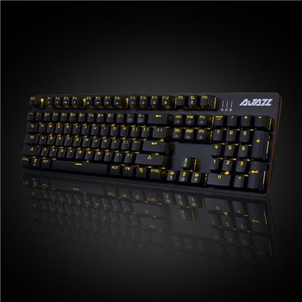 wired-keyboards Ajazz ROBOCOP Wired Mechanical Keyboard Gaming RGB Blue Swithch USB Backit 104 Classic Layout - Black Ajazz ROBOCOP Wired Mechanical Keyboard Gaming RGB Blue Swithch USB Backit 104 Classic Layout Black 5