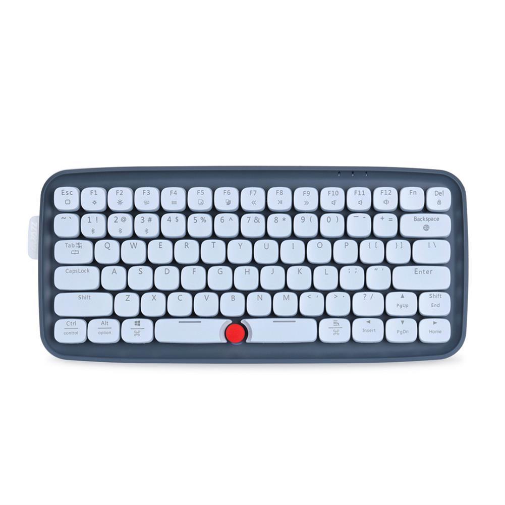 wireless-keyboards Ajazz ZERO Bluetooth Dual-mode Mechanical Keyboard 79-key RGB Light Keyboard Support Windows / Mac - Grey Ajazz ZERO Bluetooth Dual mode Mechanical Keyboard 79 key RGB Light Keyboard Support Windows Mac Grey