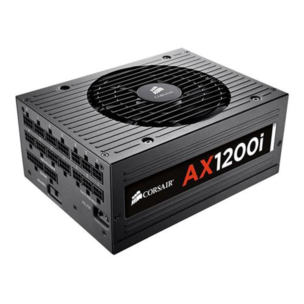 pc-power-supplies CORSAIR AX1200i 1200W Fully Modular Digital Power Supply 80 Plus Platinum Certified - Black CORSAIR AX1200i 1200W Fully Modular Digital Power Supply 80 Plus Platinum Certified Black