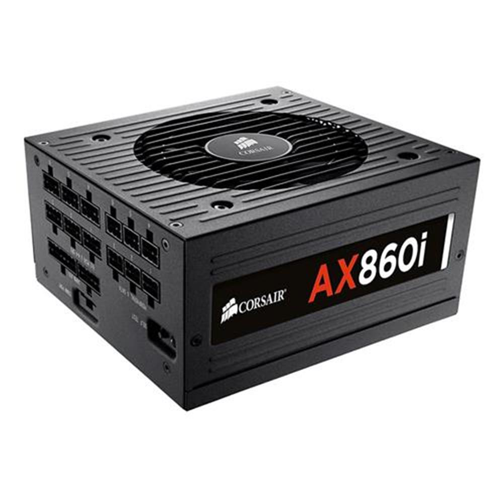 pc-power-supplies-CORSAIR AX860i 860W Fully Modular Digital Power Supply 80 Plus Platinum Certified - Black-CORSAIR AX860i 860W Fully Modular Digital Power Supply 80 Plus Platinum Certified Black