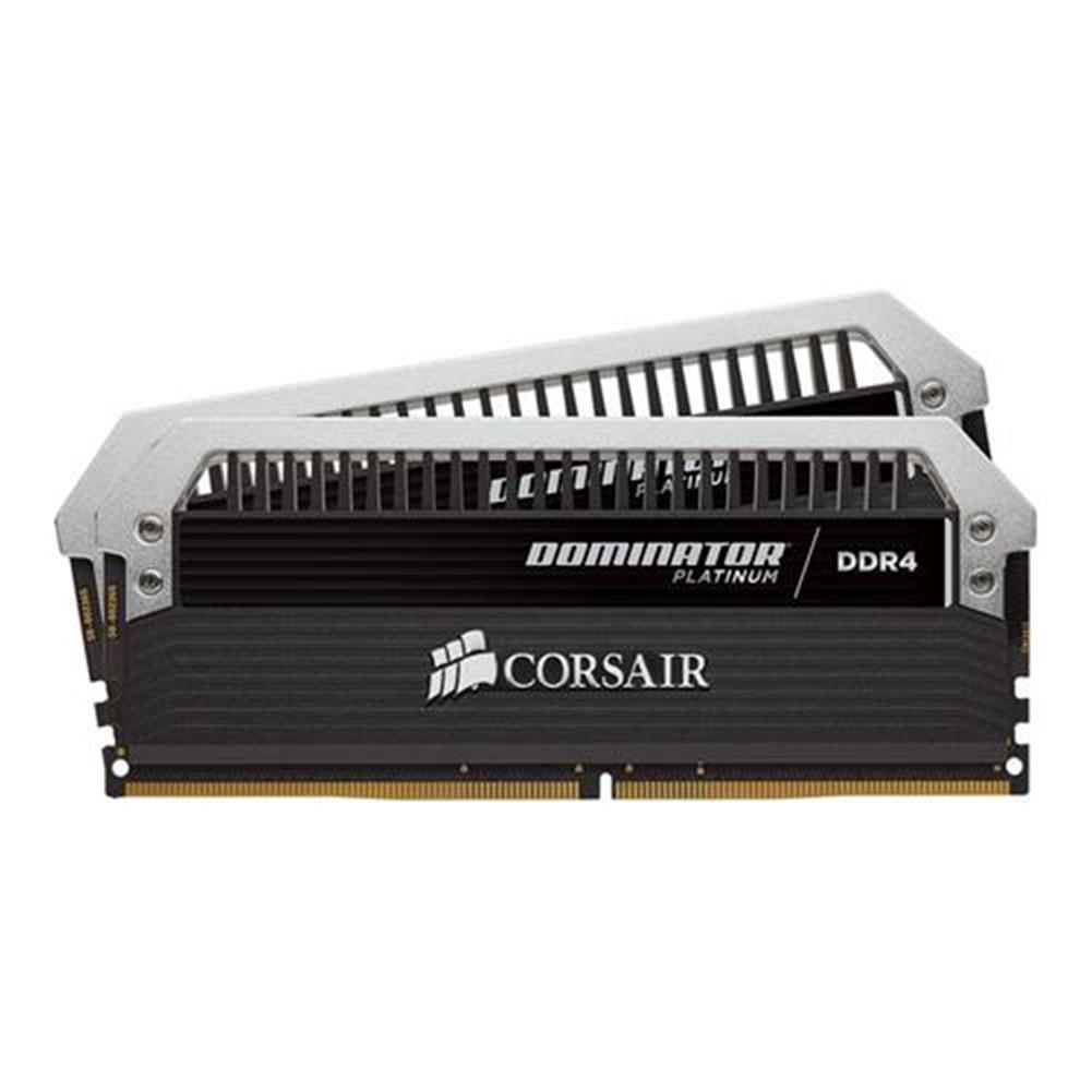 memory-modules CORSAIR Dominator Platinum Series 2 x 8GB DDR4 Memory Modules DRAM 3200MHz (PC4-25600) C16 Memory Kit CMD16GX4M2B3200C16 - Black CORSAIR Dominator Platinum Series 2 x 8GB DDR4 Memory Modules DRAM 3200MHz PC4 25600 C16 Memory Kit CMD16GX4M2B3200C16 Black 3