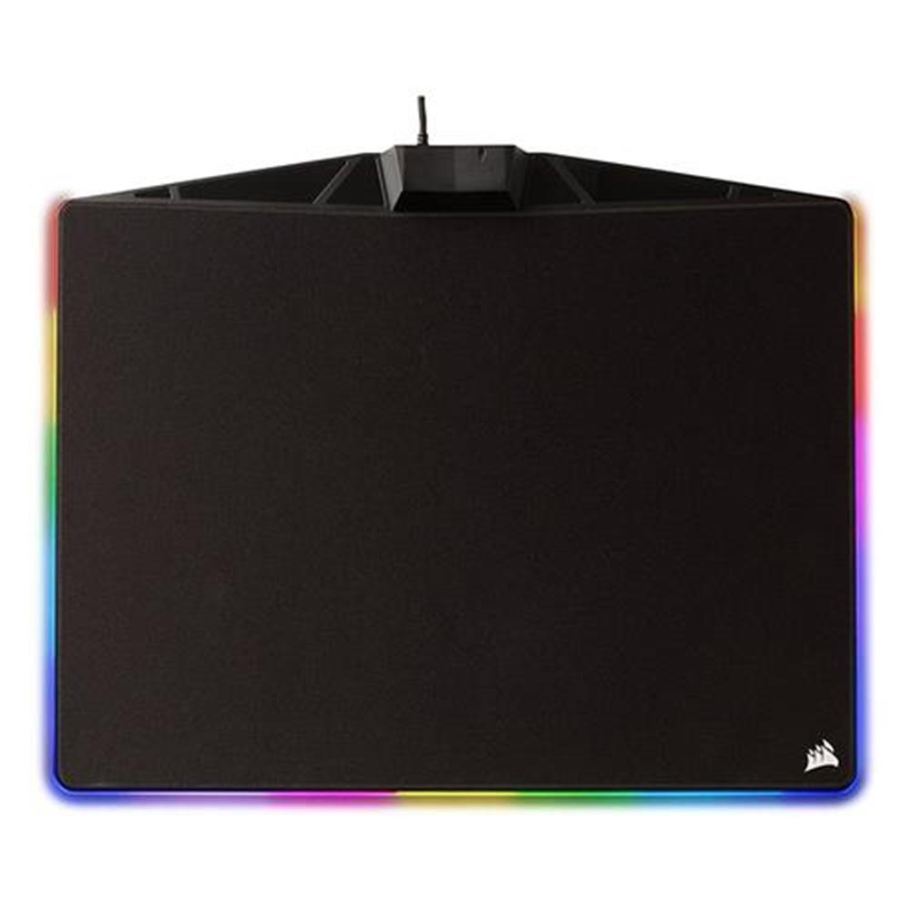 mouse-pads-CORSAIR MM800C Polaris RGB Gaming Mouse Pad Cloth Surface RGB LED Backlights USB Mouse Mat With Optimized Gaming Sensors - Black-CORSAIR MM800C Polaris RGB Gaming Mouse Pad Cloth Surface RGB LED Backlights USB Mouse Mat With Optimized Gaming Sensors Black