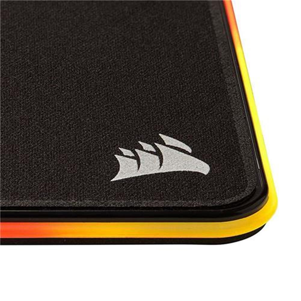 mouse-pads CORSAIR MM800C Polaris RGB Gaming Mouse Pad Cloth Surface RGB LED Backlights USB Mouse Mat With Optimized Gaming Sensors - Black CORSAIR MM800C Polaris RGB Gaming Mouse Pad Cloth Surface RGB LED Backlights USB Mouse Mat With Optimized Gaming Sensors Black 2