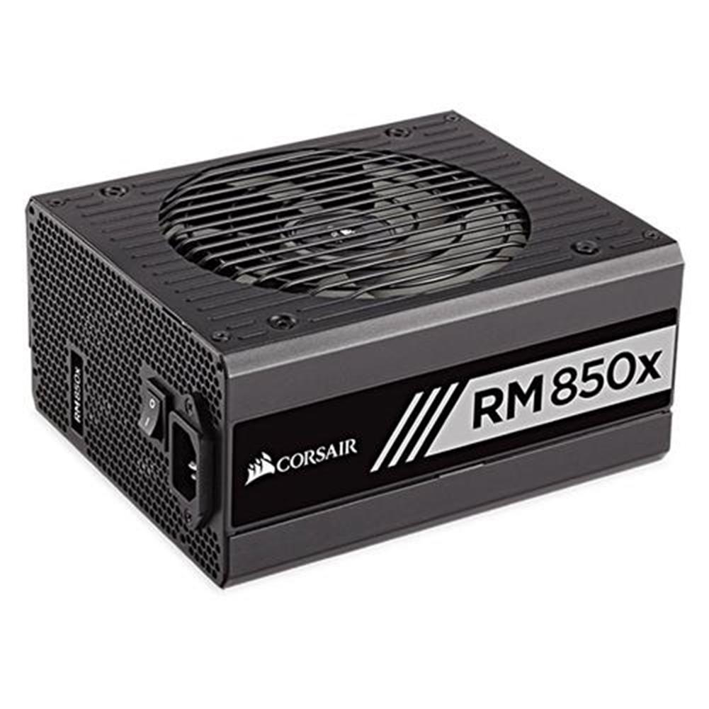 pc-power-supplies CORSAIR RM850X 850W Power Supply 80 PLUS Gold certified Fully Modular - Black CORSAIR RM850X 850W Power Supply 80 PLUS Gold certified Fully Modular Black