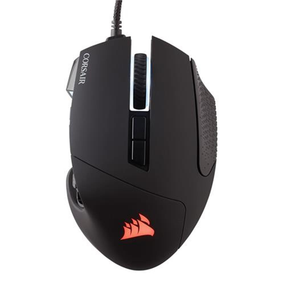 wired-mouse CORSAIR Scimitar RGB Pro Wired Gaming Mouse Backlit RGB LED 16000 DPI - Black Side Panel CORSAIR Scimitar RGB Pro Wired Gaming Mouse Backlit RGB LED 16000 DPI Black Side Panel