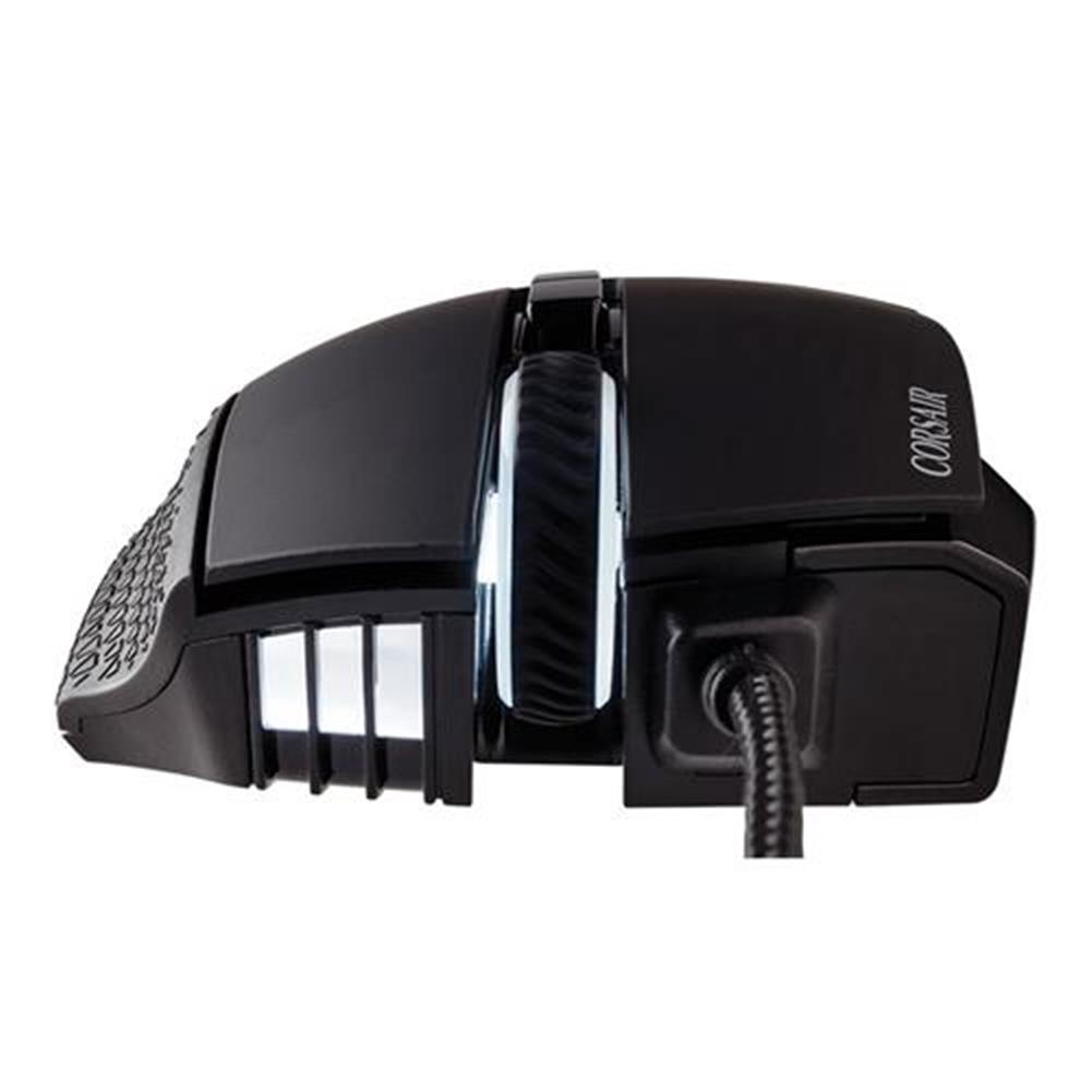 wired-mouse CORSAIR Scimitar RGB Pro Wired Gaming Mouse Backlit RGB LED 16000 DPI - Black Side Panel CORSAIR Scimitar RGB Pro Wired Gaming Mouse Backlit RGB LED 16000 DPI Black Side Panel 8