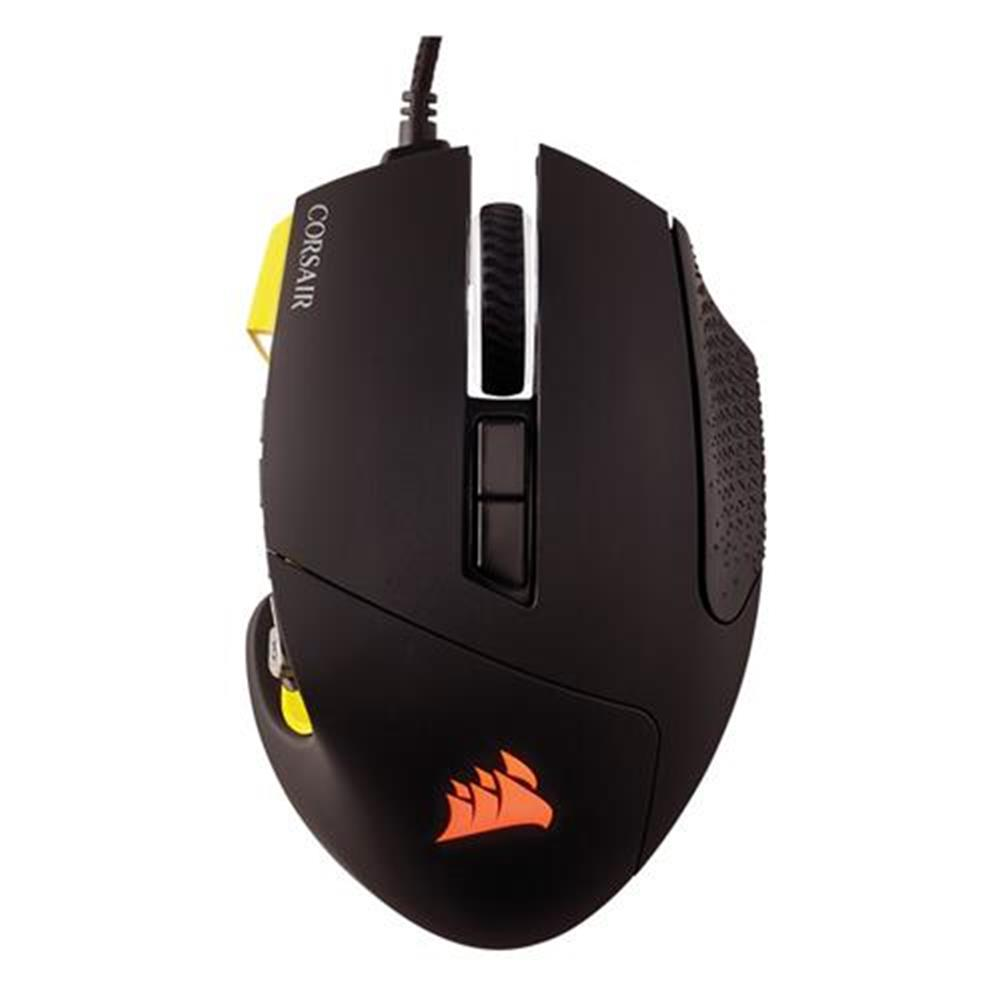 wired-mouse CORSAIR Scimitar RGB Pro Wired Gaming Mouse Backlit RGB LED 16000 DPI - Yellow Side Panel CORSAIR Scimitar RGB Pro Wired Gaming Mouse Backlit RGB LED 16000 DPI Yellow Side Panel