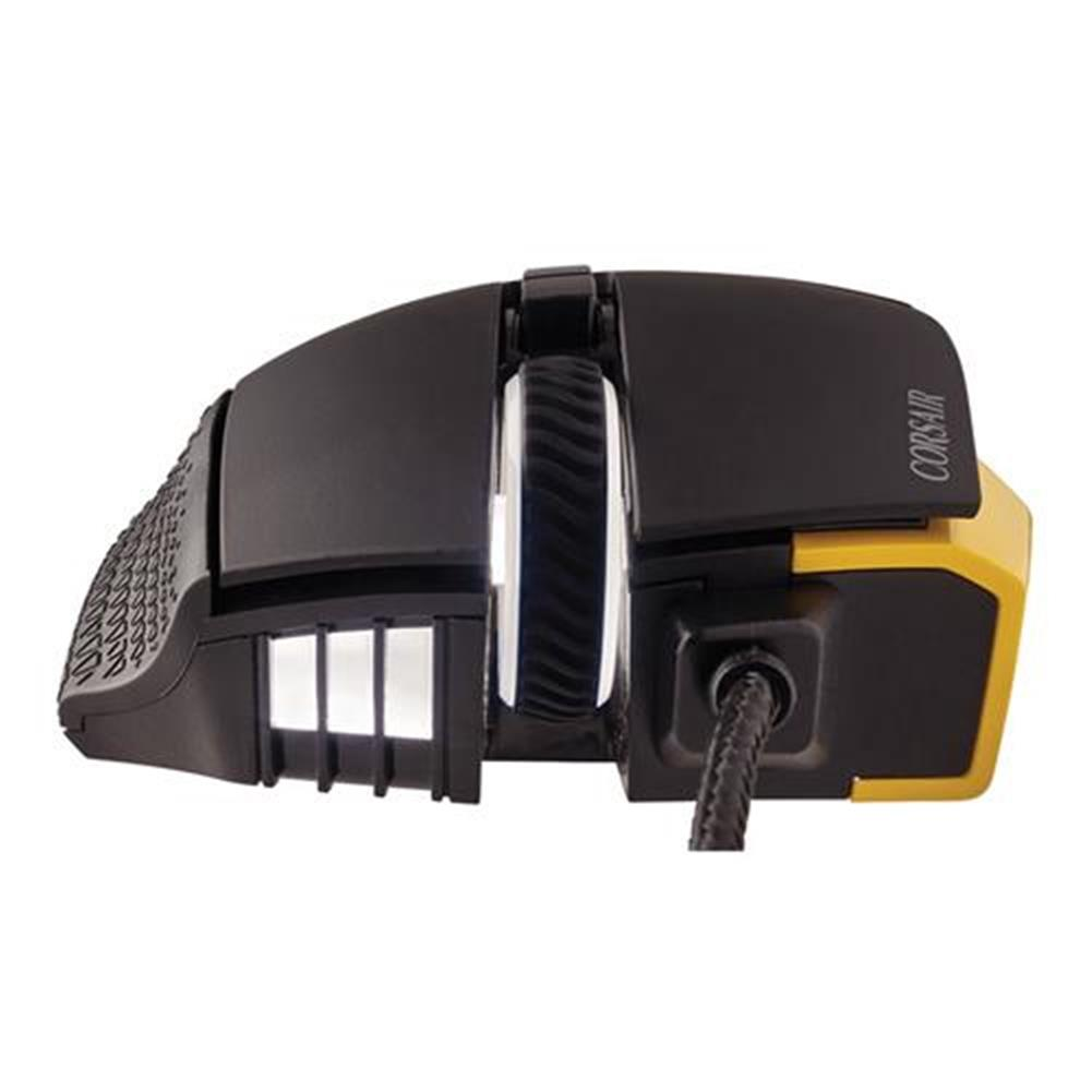 wired-mouse CORSAIR Scimitar RGB Pro Wired Gaming Mouse Backlit RGB LED 16000 DPI - Yellow Side Panel CORSAIR Scimitar RGB Pro Wired Gaming Mouse Backlit RGB LED 16000 DPI Yellow Side Panel 9