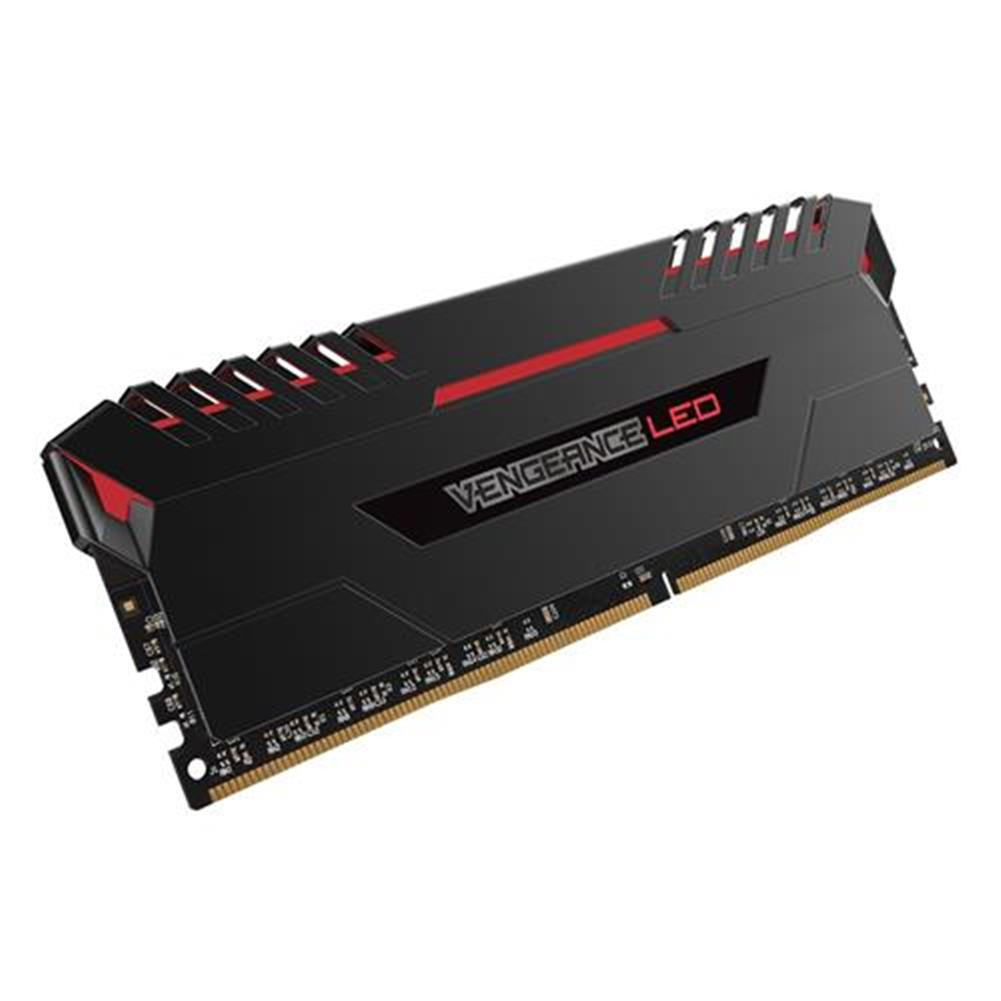 memory CORSAIR Vengeance 2 x 8GB DDR4 Memory Modules Red LED 3000MHz PC4-24000 C15 For DDR4 Systems CMU16GX4M2C3000C15R - Black CORSAIR Vengeance 2 x 8GB DDR4 Memory Modules Red LED 3000MHz PC4 24000 C15 For DDR4 Systems CMU16GX4M2C3000C15R Black 1