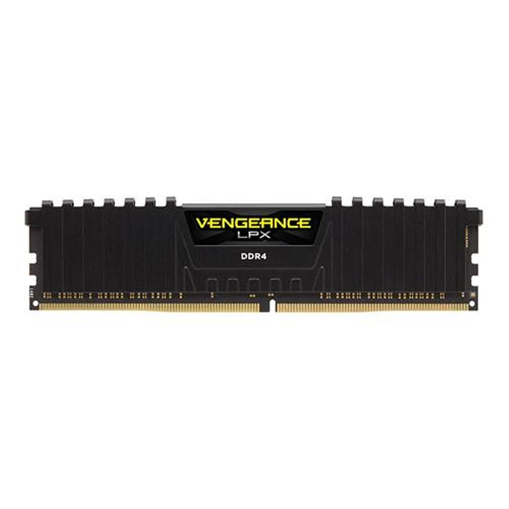 memory-modules CORSAIR Vengeance LPX 8GB DDR4 Memory Modules DRAM 2400MHz PC4-19200 C16 Memory Kit CMK8GX4M1A2400C16 - Black CORSAIR Vengeance LPX 8GB DDR4 Memory Modules DRAM 2400MHz PC4 19200 C16 Memory Kit CMK8GX4M1A2400C16 Black