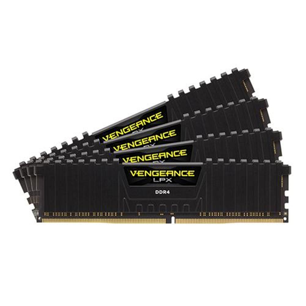 memory CORSAIR Vengeance LPX 8GB DDR4 Memory Modules DRAM 2400MHz PC4-19200 C16 Memory Kit CMK8GX4M1A2400C16 - Black CORSAIR Vengeance LPX 8GB DDR4 Memory Modules DRAM 2400MHz PC4 19200 C16 Memory Kit CMK8GX4M1A2400C16 Black 4