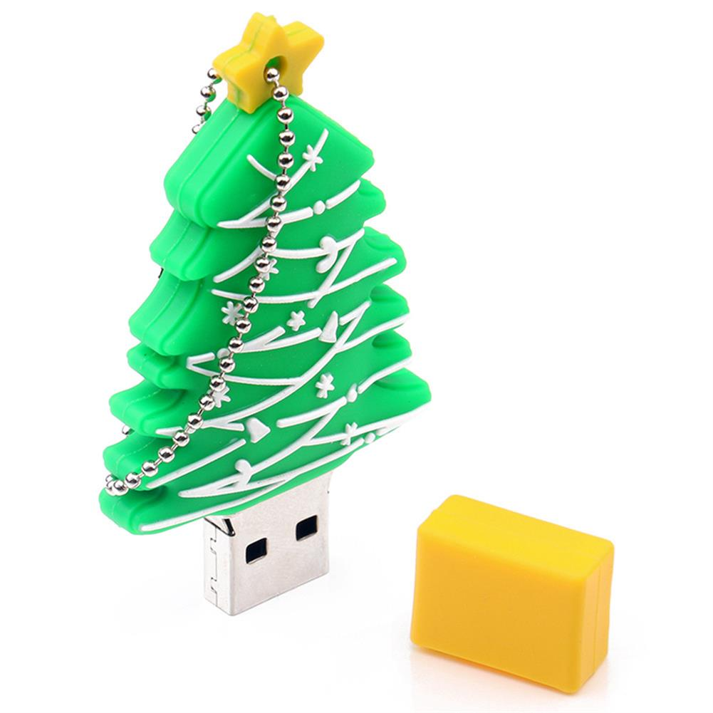 usb-flash-drives-CR10105 USB Flash Drive 128G Exquisite Christmas Tree Gifts USB 2.0 For Children And Friends - Green-CR10105 USB Flash Drive 128G Exquisite Christmas Tree Gifts USB 2 0 For Children And Friends Green
