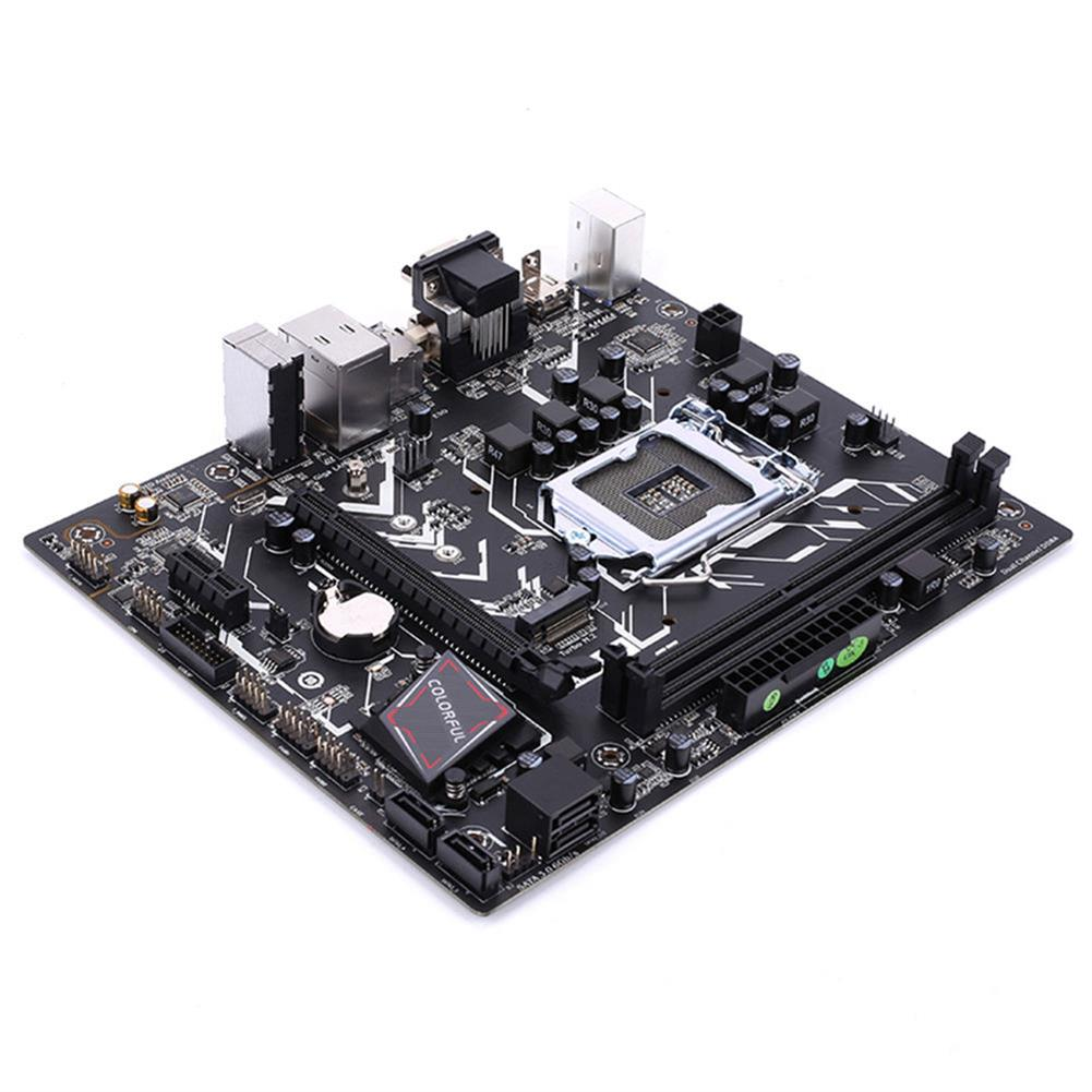 motherboards-Colorful Battle Axe C.B360M-HD PRO V20 Gaming Motherboard Intel B360 LGA 1151 mATX DDR4 SATA3 M.2 VGA+HDMI+DVI - Black-Colorful Battle Axe C B360M HD PRO V20 Gaming Motherboard Intel B360 LGA 1151 mATX DDR4 SATA3 M 2 VGA HDMI DVI Black 1
