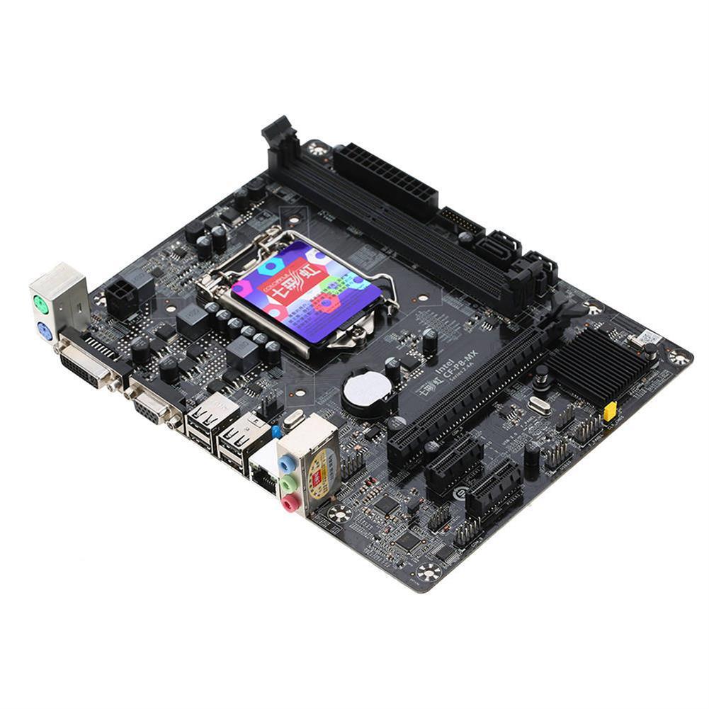 motherboards-Colorful C.H81M Plus V24A Motherboard Intel Chipset LGA 1150 mATX USB3.0 SATA3 DDR3 DVI+VGA - Black-Colorful C H81M Plus V24A Motherboard Intel Chipset LGA 1150 mATX USB3 0 SATA3 DDR3 DVI VGA Black 1