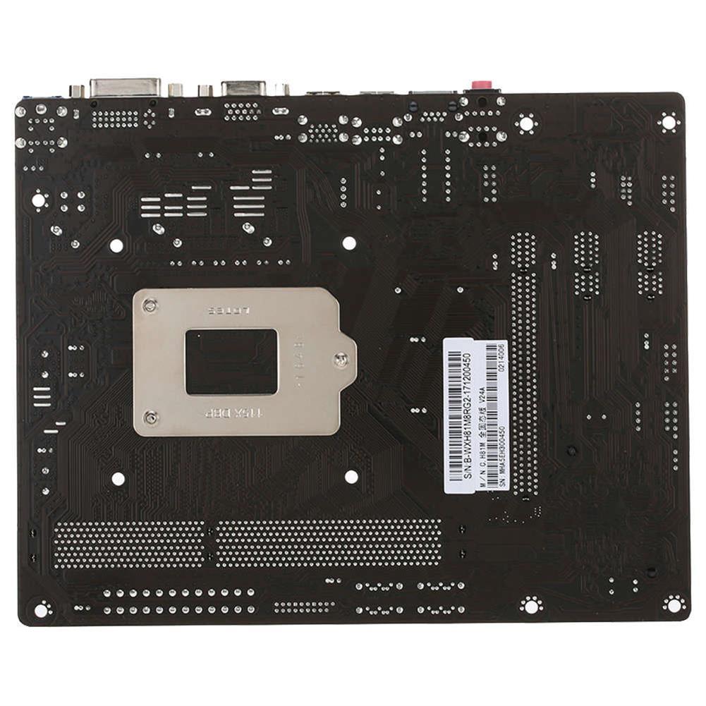 motherboards-Colorful C.H81M Plus V24A Motherboard Intel Chipset LGA 1150 mATX USB3.0 SATA3 DDR3 DVI+VGA - Black-Colorful C H81M Plus V24A Motherboard Intel Chipset LGA 1150 mATX USB3 0 SATA3 DDR3 DVI VGA Black 3