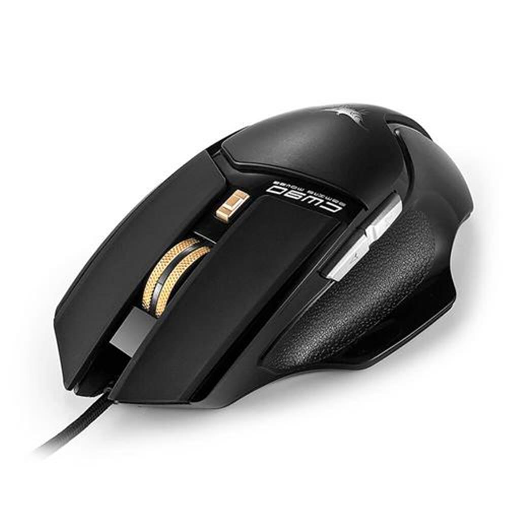 wired-mouse Combaterwing CW-90 6 Keys Gaming Mouse 3800DPI with Optical Sensor Ergonomic Design - Black Combaterwing CW 90 6 Keys Gaming Mouse 3800DPI with Optical Sensor Ergonomic Design Black 1
