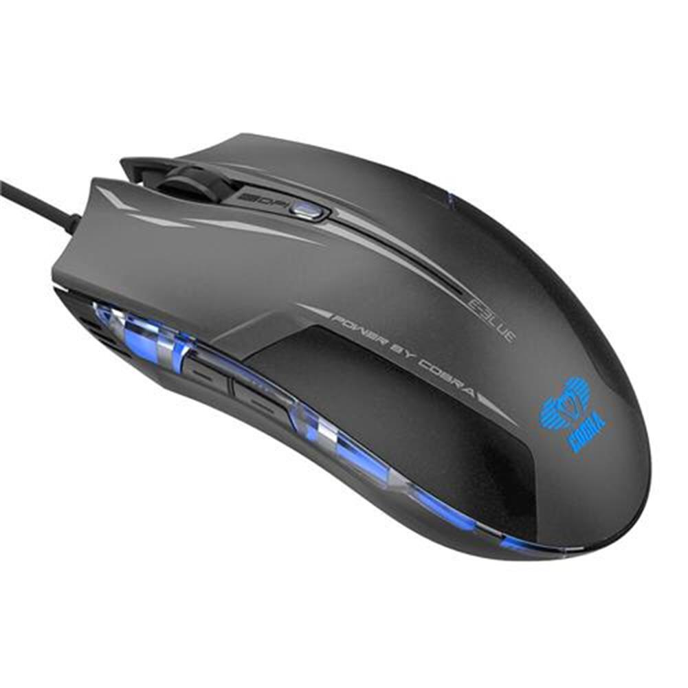 wireless-mouse-E-3LUE EMS109 Gaming Edition LED Optical Gaming Mouse with Side Control -  Black-E 3LUE EMS109 Gaming Edition LED Optical Gaming Mouse with Side Control Black 1