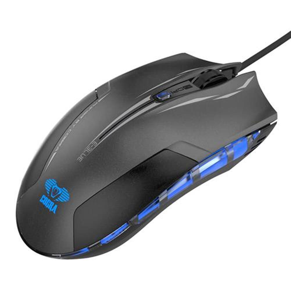 wireless-mouse-E-3LUE EMS109 Gaming Edition LED Optical Gaming Mouse with Side Control -  Black-E 3LUE EMS109 Gaming Edition LED Optical Gaming Mouse with Side Control Black 3