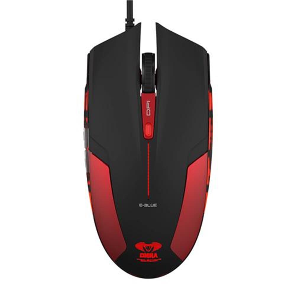 wireless-mouse E-3LUE EMS109 LED Optical Gaming Mouse with Side Control - Red E 3LUE EMS109 LED Optical Gaming Mouse with Side Control Red