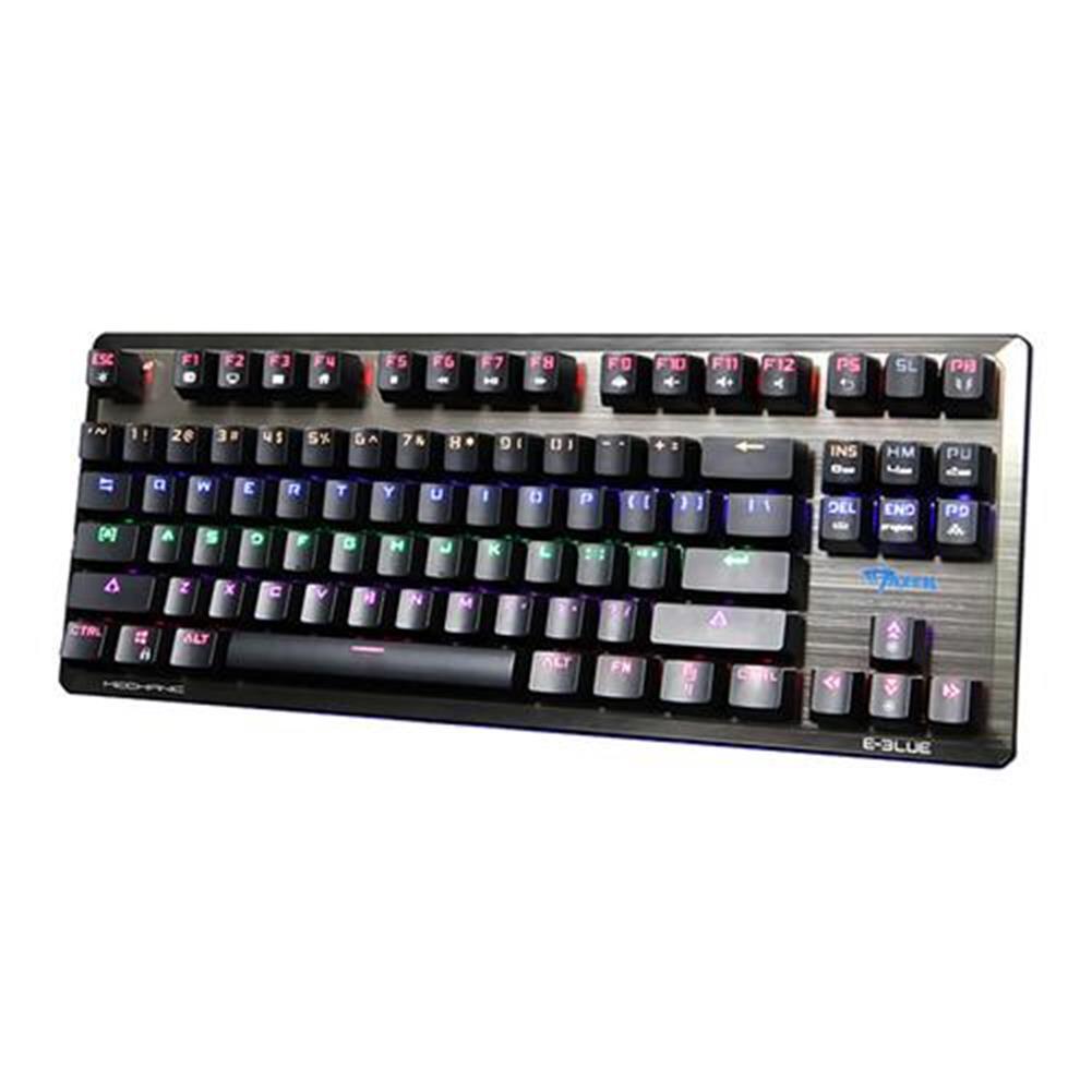 wireless-keyboards E-3LUE K727 Mechanical Gaming Keyboard 87 key Black Switch - Black E 3LUE K727 Mechanical Gaming Keyboard 87 key Black Switch Black 1