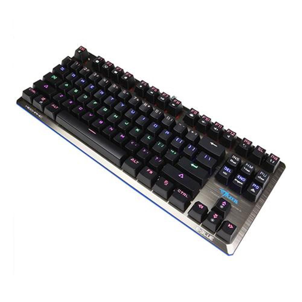 wireless-keyboards E-3LUE K727 Mechanical Gaming Keyboard 87 key Black Switch - Black E 3LUE K727 Mechanical Gaming Keyboard 87 key Black Switch Black 4