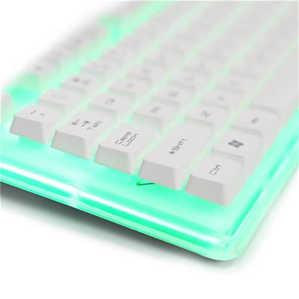 wired-keyboards E-3lue EKM725 Water Resistant Colorful Backlit Gaming Keyboard 8 Switchable Backlight - White E 3lue EKM725 Water Resistant Colorful Backlit Gaming Keyboard 8 Switchable Backlight White 5