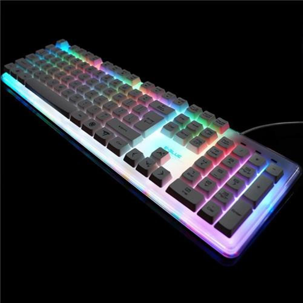 wired-keyboards E-3lue EKM725 Water Resistant Colorful Backlit Gaming Keyboard 8 Switchable Backlight - White E 3lue EKM725 Water Resistant Colorful Backlit Gaming Keyboard 8 Switchable Backlight White 6