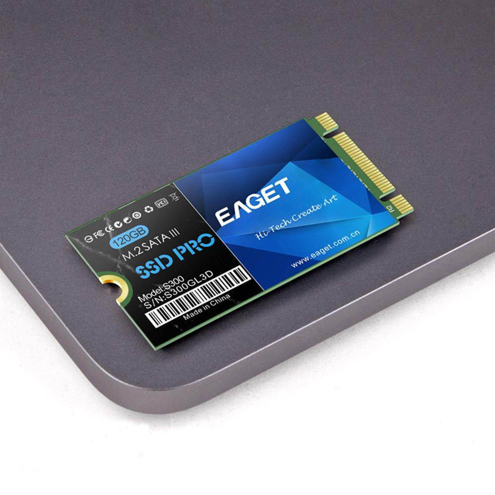 storage EAGET S300 M.2 2242 120G SSD With SATA3 6Gb/s Interface Reading Speed 460MB/s For Laptops - Blue EAGET S300 M 2 2242 120G SSD With SATA3 6Gb s Interface Reading Speed 460MB s For Laptops Blue 1