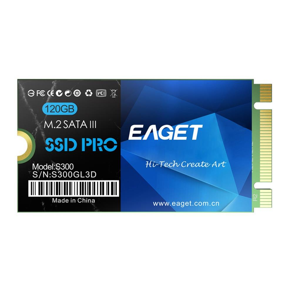 ssd-hdd-enclosures-EAGET S300 M.2 2242 120G SSD With SATA3 6Gb/s Interface Reading Speed 460MB/s For Laptops - Blue-EAGET S300 M 2 2242 120G SSD With SATA3 6Gb s Interface Reading Speed 460MB s For Laptops Blue 5