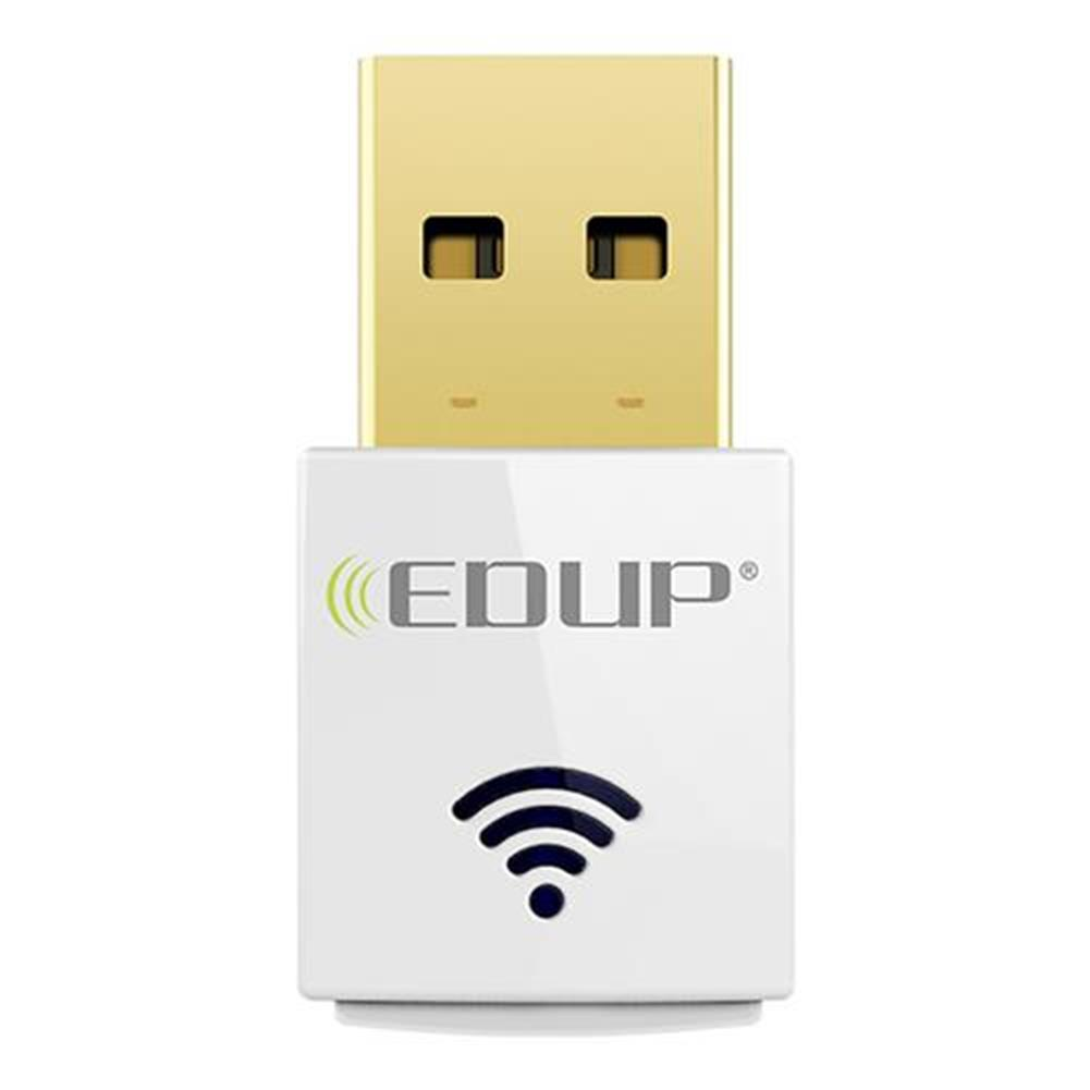 usb-wi-fi-adapters-dongles-EDUP EP-AC1619 Dual Band USB WiFi Adapter 2.4GHz 5.8GHz Dual Band 802.11AC 600Mbps Wireless Mini WiFi Adapter - White-EDUP EP AC1619 Dual Band USB WiFi Adapter 2 4GHz 5 8GHz Dual Band 802 11AC 600Mbps Wireless Mini WiFi Adapter White