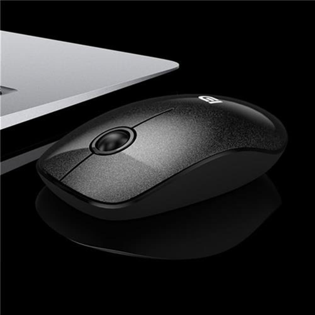 wireless-mouse-FUDE V8 2.4GHz Wireless Ultra Thin Mouse Compact Soundless Mice 1500DPI - Black-FUDE V8 2 4GHz Wireless Ultra Thin Mouse Compact Soundless Mice 1500DPI Black 2