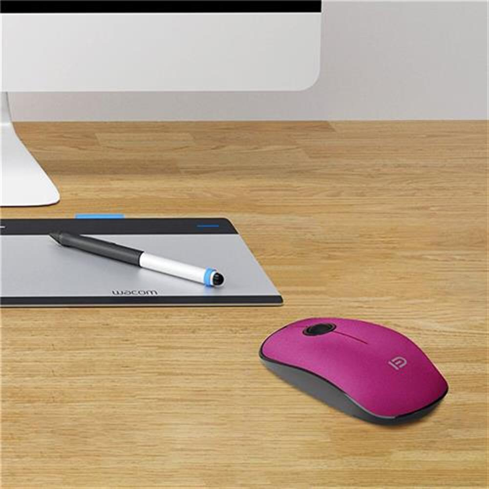 wireless-mouse-FUDE V8 2.4GHz Wireless Ultra Thin Mouse Compact Soundless Mice 1500DPI - Rose-FUDE V8 2 4GHz Wireless Ultra Thin Mouse Compact Soundless Mice 1500DPI Rose 4