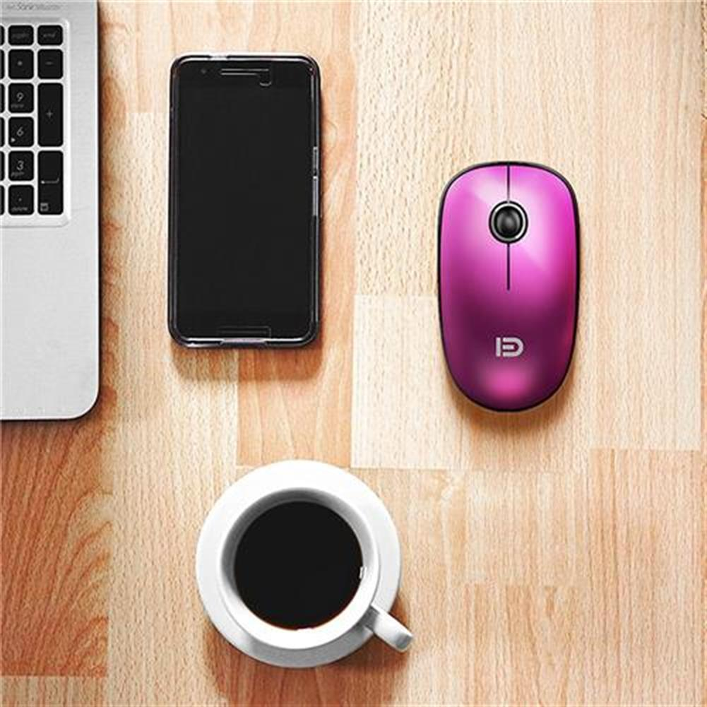 wireless-mouse-FUDE V8 2.4GHz Wireless Ultra Thin Mouse Compact Soundless Mice 1500DPI - Rose-FUDE V8 2 4GHz Wireless Ultra Thin Mouse Compact Soundless Mice 1500DPI Rose 5