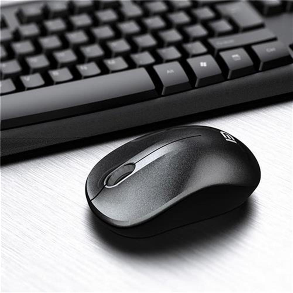 keyboard-and-mice-kit G9100C Wireless Keyboard + Mouse Kit for Desktop QWERTY 107 Keys 36 Months Standby - Black G9100C Wireless Keyboard Mouse Kit for Desktop QWERTY 107 Keys 36 Months Standby Black 1
