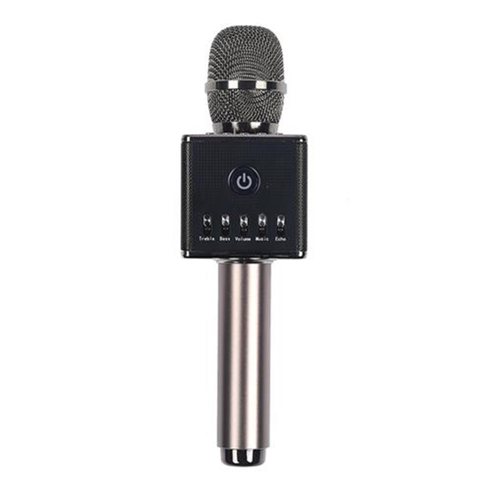 microphones Hapow H8 Portable Wireless Microphone Removable Battery USB Interface Unique Design- Dark Gray Hapow H8 Portable Wireless Microphone Removable Battery USB Interface Unique Design Dark Gray 1