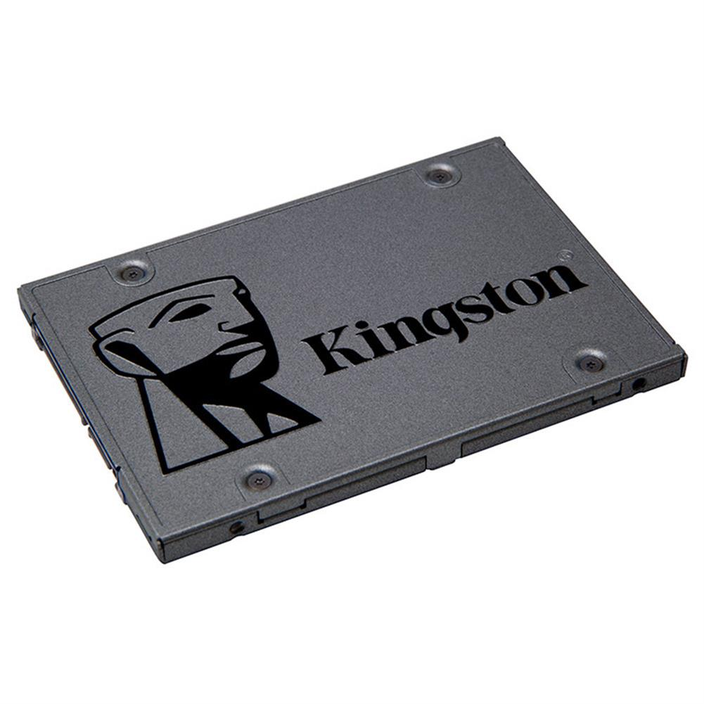 ssd-hdd-enclosures-Kingston A400 SSD 240GB SATA 3 2.5 Inch Solid State Drive SA400S37/120G For Desktops And Notebooks - Dark Gray-Kingston A400 SSD 240GB SATA 3 2 5 Inch Solid State Drive SA400S37 120G For Desktops And Notebooks Dark Gray