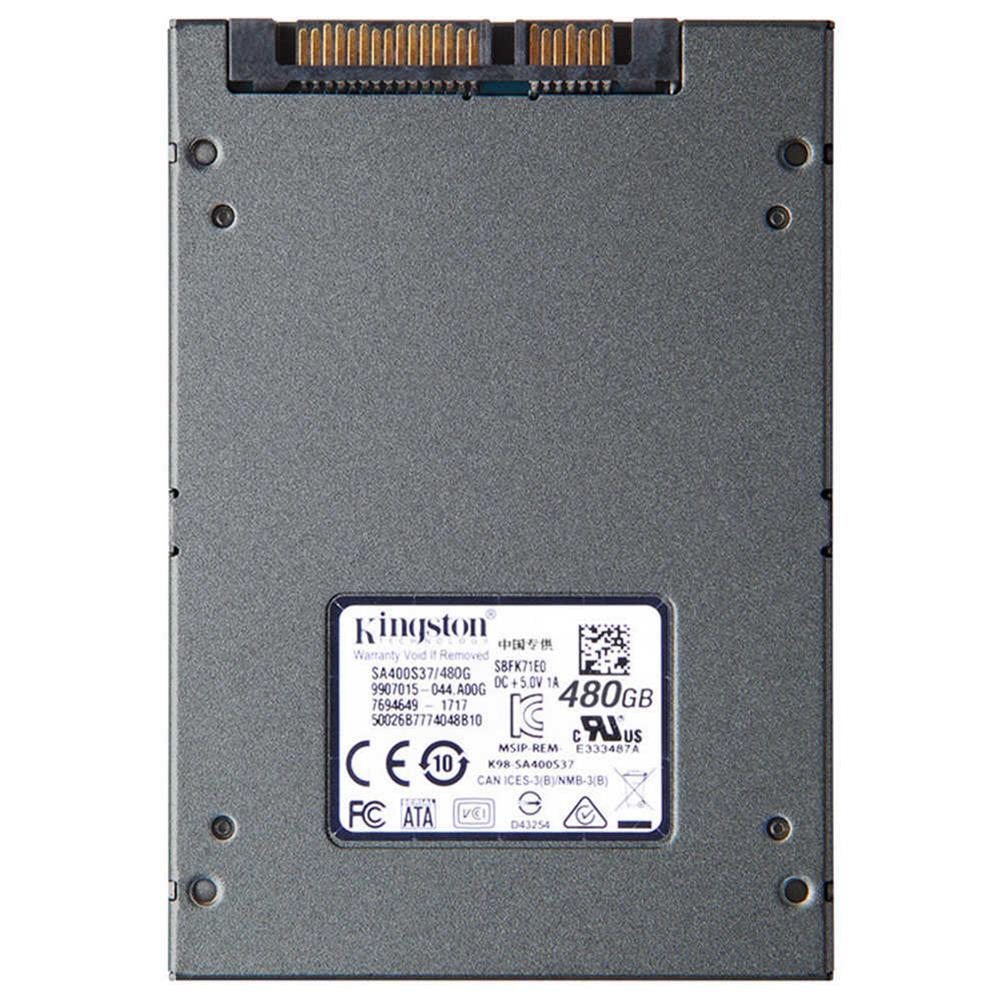 storage Kingston A400 SSD 480GB SATA 3 2.5 Inch Solid State Drive SA400S37/120G For Desktops And Notebooks - Dark Gray Kingston A400 SSD 480GB SATA 3 2 5 Inch Solid State Drive SA400S37 120G For Desktops And Notebooks Dark Gray 1
