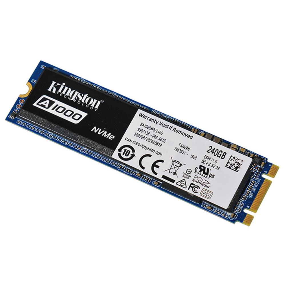 ssd-hdd-enclosures-Kingston Digital A1000 240GB PCIe NVMe M.2 2280 Internal SSD High Performance Solid State Drive - Blue-Kingston Digital A1000 240GB PCIe NVMe M 2 2280 Internal SSD High Performance Solid State Drive Blue 2