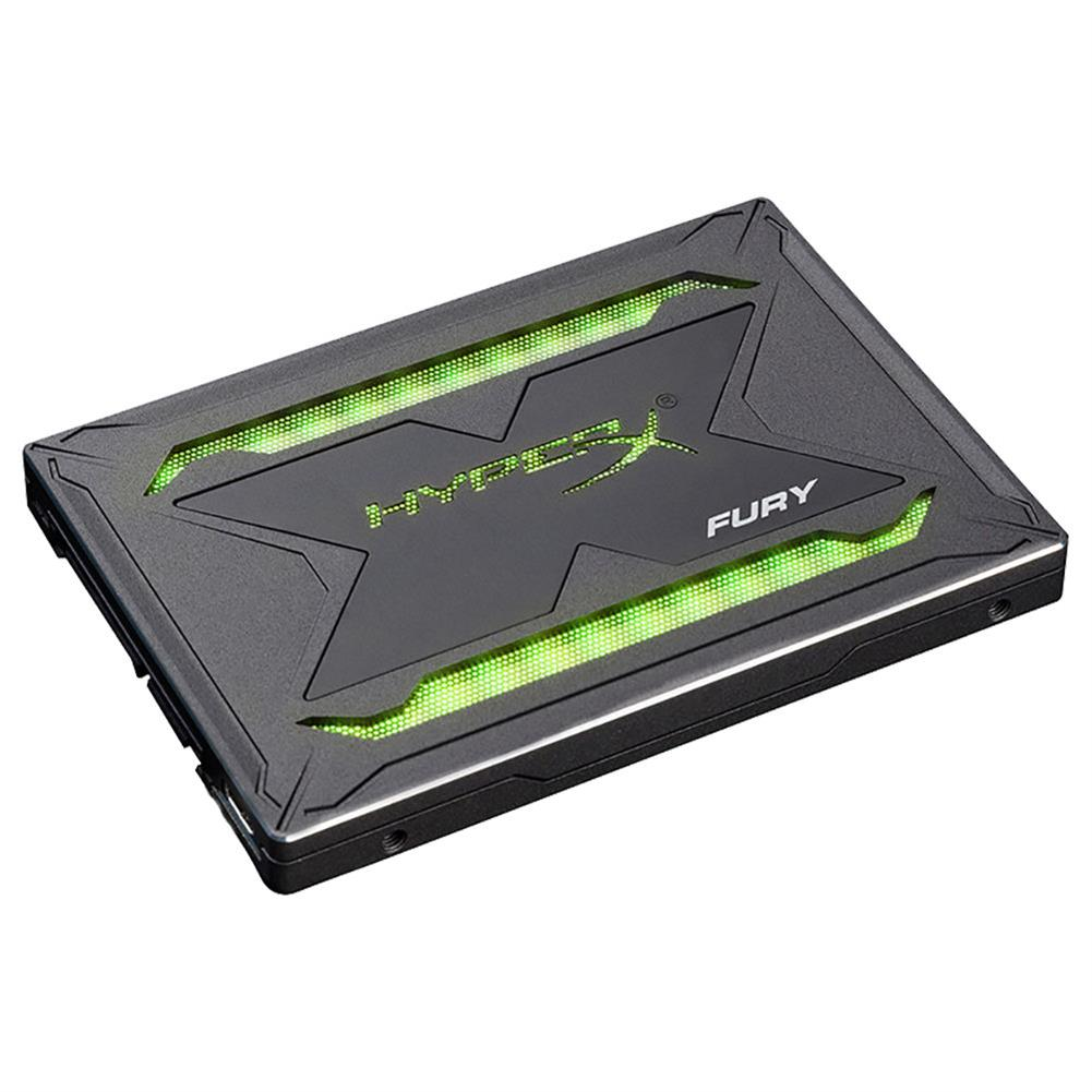 ssd-hdd-enclosures-Kingston HyperX Fury RGB SHFR200 240GB SSD Solid SATA Drive 2.5 Inch SATA 3 Interface With Dynamic RGB Effects - Black-Kingston HyperX Fury RGB SHFR200 240GB SSD Solid SATA Drive 2 5 Inch SATA 3 Interface With Dynamic RGB Effects Black